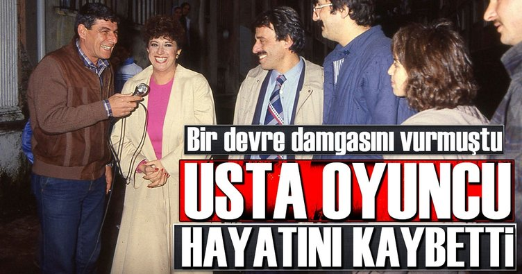 Son dakika: Ünlü Oyuncu Ercan Yazgan hayatını kaybetti