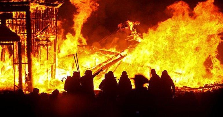 Burning Man iptal edildi