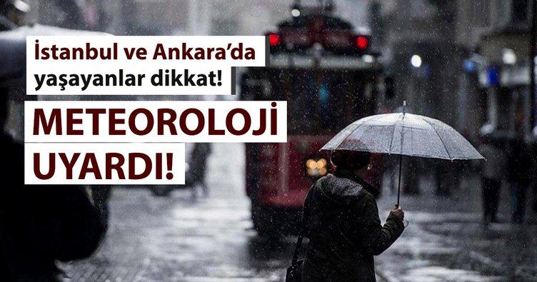 Meteoroloji'den son dakika hava durumu ve yağış uyarısı geldi! - İstanbul Ankara ve il il hava durumu