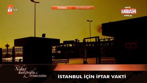 İstanbul iftar vakti saat kaçta? İstanbul İmsakiye 2021: İstanbul iftar saati ve il il iftar saatleri yayınlandı - 21 Nisan Çarşamba | Video
