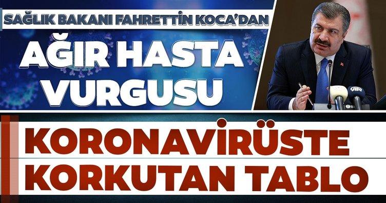 Sağlık Bakanı Fahrettin Koca SON DAKİKA açıkladı! İşte 14 Aralık koronavirüs tablosu