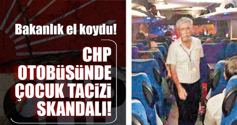 Son Dakika Haberi: CHP otobüsündeki çocuk tacizi skandalına bakanlık el koydu