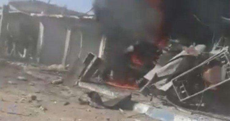Tel Abyad'da PKK/PYD'li teröristlerce bombalı saldırı: 9 ölü, 30 yaralı