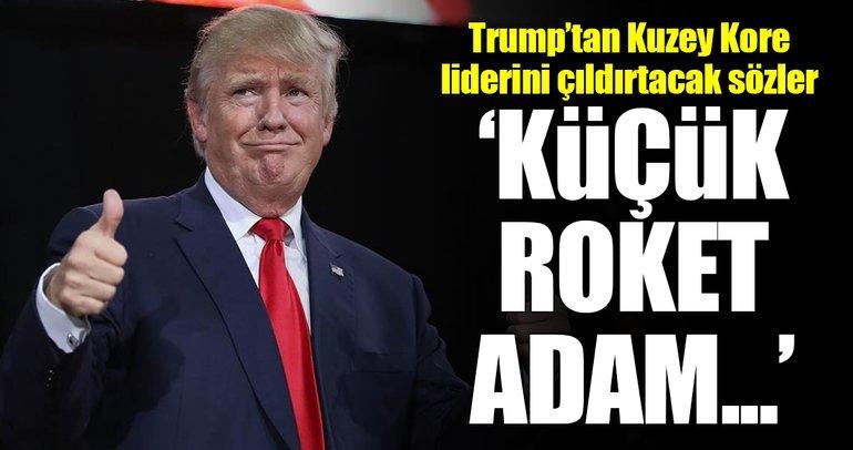 Trump'tan, Kim'i kızdıracak sözler!