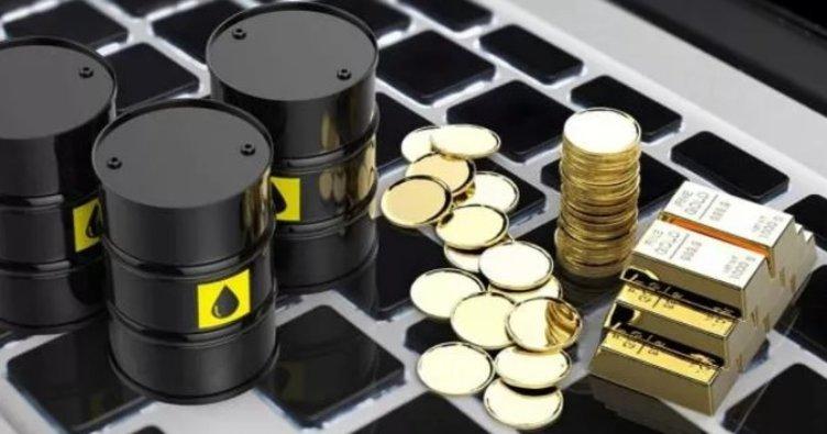 Altın fiyatları yükseldi petrol yatay seyretti