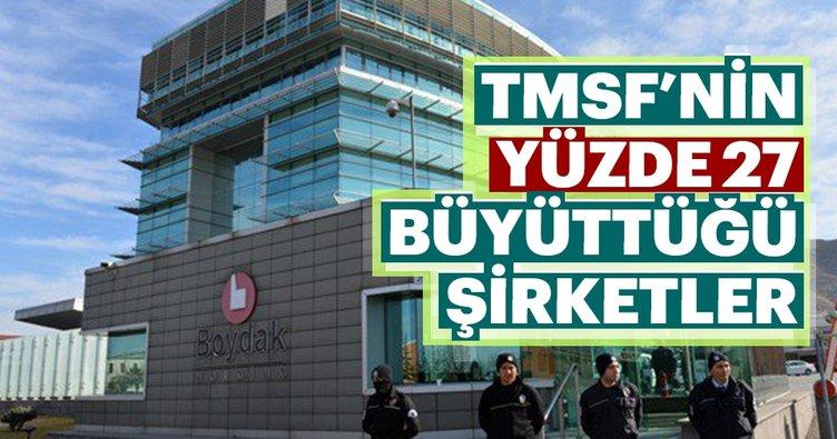 TMSF 955 şirketi yüzde 27 büyüttü