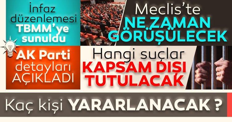 AK Parti'den af yasası ile ilgili son dakika açıklaması! Ceza infaz yasası nasıl olacak?