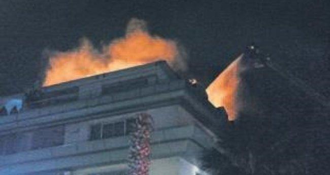 Cavanda'nın rezidansında yangın