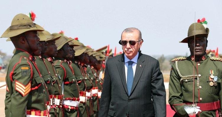 Cumhurbaşkanı Erdoğan ZAMBİYA ile ilgili görsel sonucu