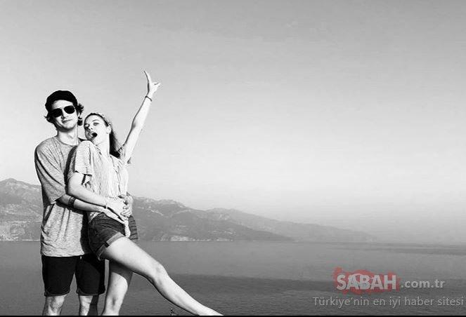 Güzel oyuncu Afra Saraçoğlu ile sevgilisi Mert Yazıcıoğlu romantik paylaşım! Genç çift Afra Saraçoğlu ile Mert Yazıcıoğlu birbirlerine poz verdi...
