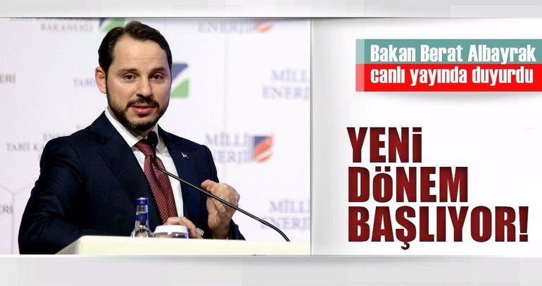 Enerji ve Tabii Kaynaklar Bakanı Berat Albayrak: Akıllı kömür dönemini bugün başlatıyoruz