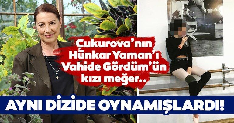 Bir Zamanlar Çukurova'nın Hünkar Yaman'ı usta oyuncu Vahide Gördüm'ün kızı da oyuncu! İşte Vahide Gördüm'ün kızı Alize Gördüm...