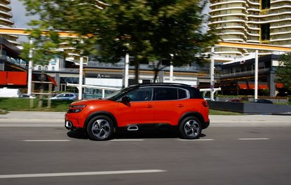 Sürüş: Citroen C5 Aircross 1.5 BlueHDi 130 HP EAT8