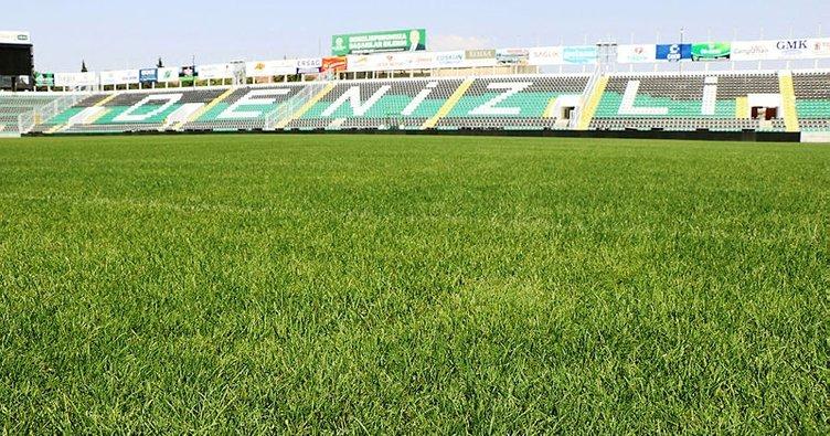 Denizli Atatürk Stadı, Galatasaray maçına hazır
