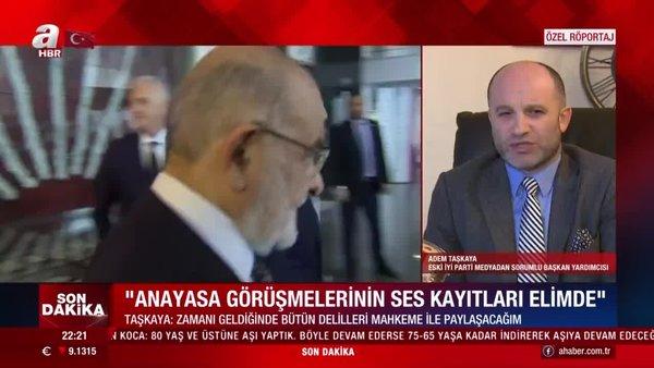 Son dakika! İYİ Parti eski yöneticisi Adem Taşkaya: