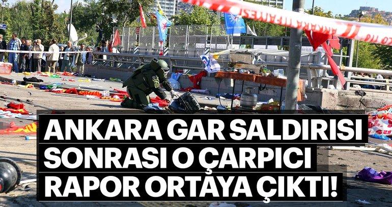 DEAŞ'lı terörist Durmaz'ın Ankara Gar Saldırısı sonrası örgüte verdiği rapor ortaya çıktı