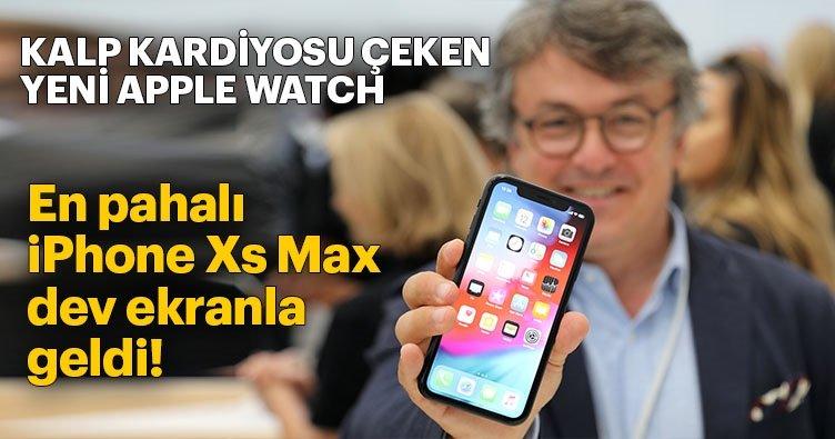 En pahalı iPhone Xs Max dev ekranla geldi