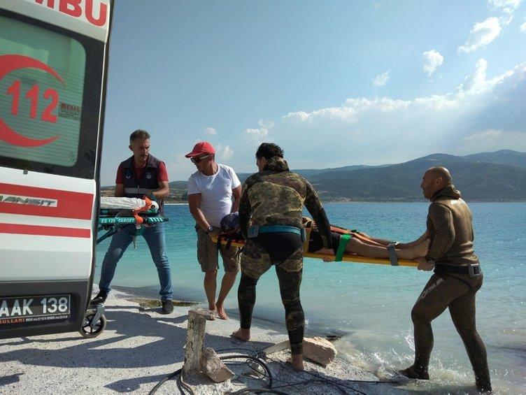 Serbest Dalış Rekortmeni Derya Can'dan Salda Gölü uyarısı