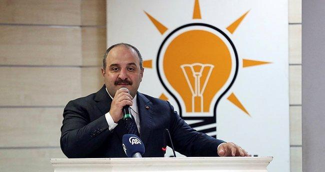 Bakan Varank: Yedi düvele karşı mücadele veriyoruz.