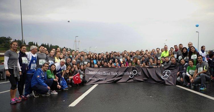 Mercedes-Benz Türk, İstanbul Maratonu'nda rekor bağış topladı
