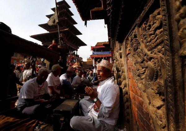 Nepal'in yeni yıl festivali: Bisket Jatra