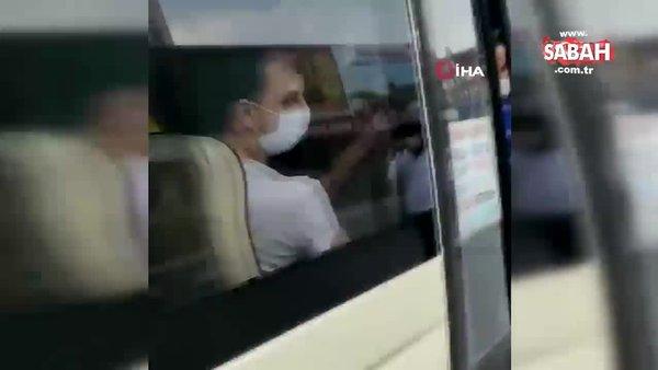 Esenyurt'ta 14 kişilik bir minibüsten 42 kişi çıktı | Video