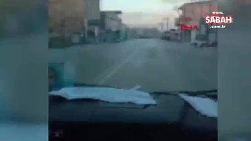 Canlı yayın yaparken, karıştıkları 6 kişinin yaralandığı kazayı görüntüledi   Video