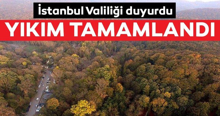 İstanbul Valiliği: 315 kaçak yapının yıkımı tamamlandı