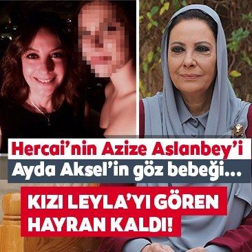 Hercai'nin Azize Aslanbey'i kızını paylaştı sosyal medya hayran kaldı!
