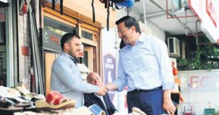 Başkan Ak'tan esnafa ahilik ziyareti