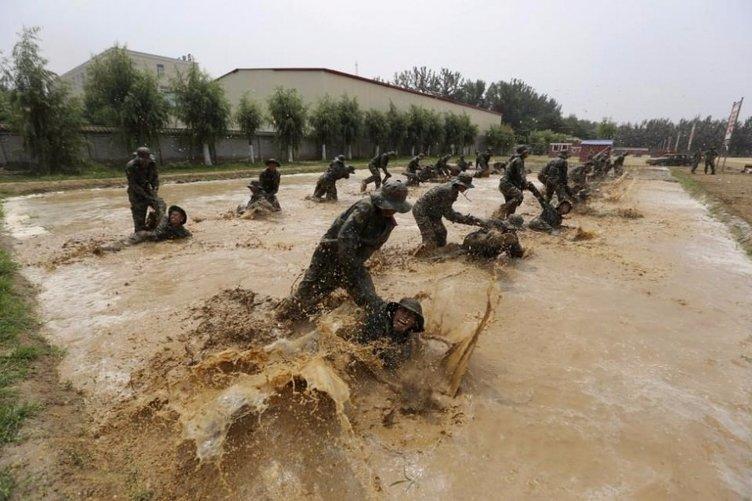 Çinlilerin zorlu eğitimi