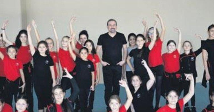 Cepa dans okulu eğitime başladı