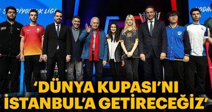 """""""Dünya Kupası'nı İstanbul'a getireceğiz"""""""