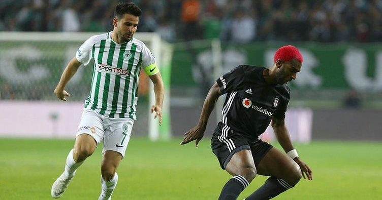 Hafızalardan çıkmayacak maçta Beşiktaş ve Konyaspor yenişemedi