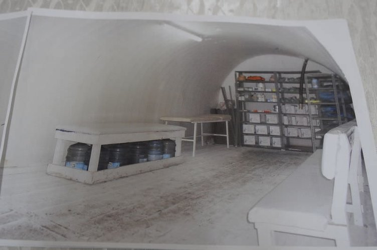 Soma'da madendeki yaşam odaları