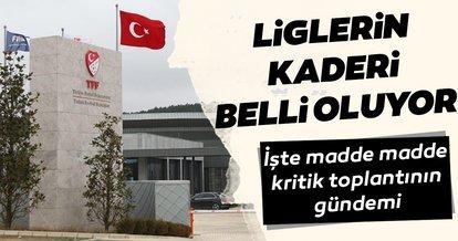 Türk futbolu için Ankara'da kritik gün