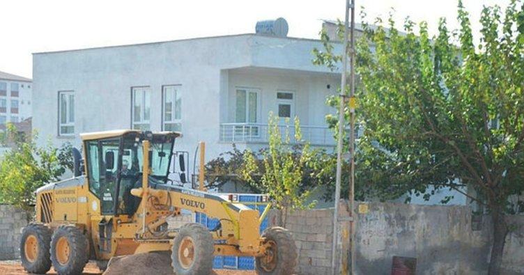 Kahta Belediyesi asfalt çalışmalarını sürdürüyor