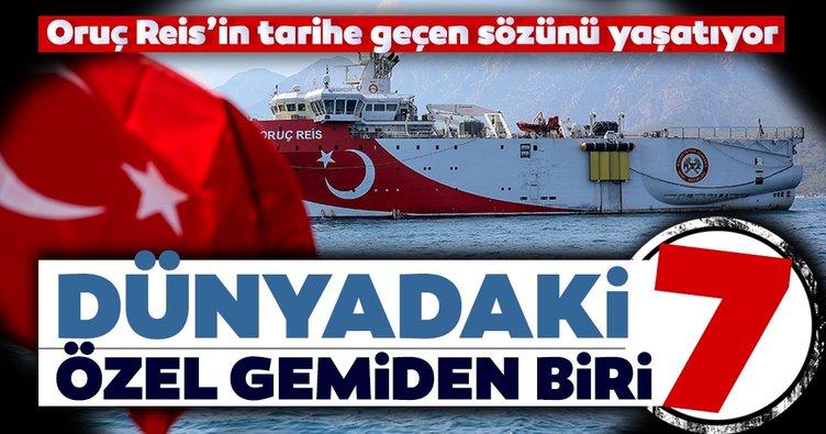 Dünyadaki 7 özel gemiden biri