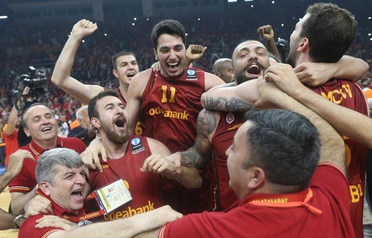 Eurocup kupa töreni