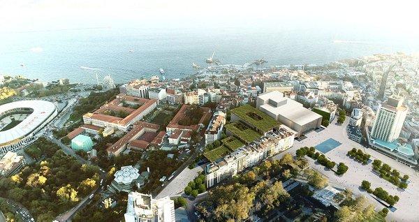 İşte yeni Atatürk Kültür Merkezi