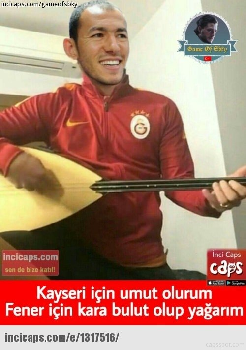 Kayserispor - Fenerbahçe maçı capsleri