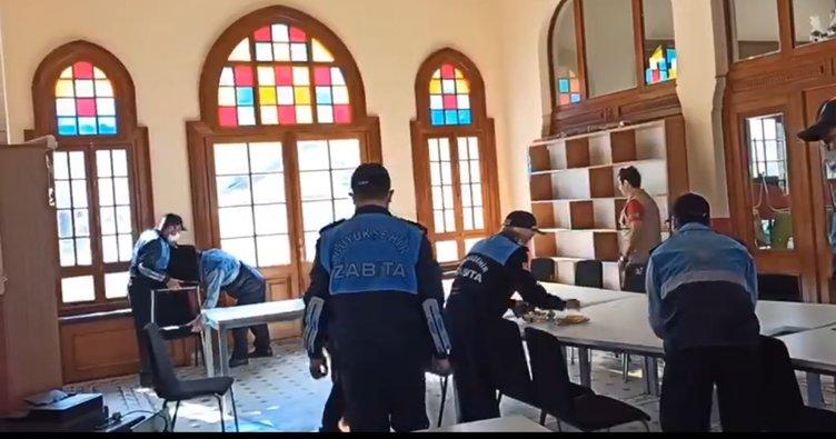 İBB, kiracısı olan TÜGVA Adalar İlçe Temsilciliği'ni işgal etti! Zabıtalar polise saldırdı...