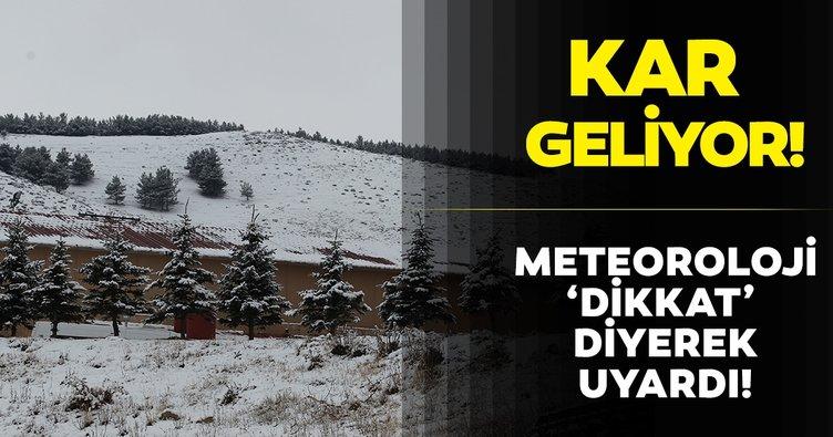 Meteoroloji'den son dakika hava durumu açıklaması! Kuvvetli kar yağışı ve yağmur uyarısı... Su baskınlarına dikkat
