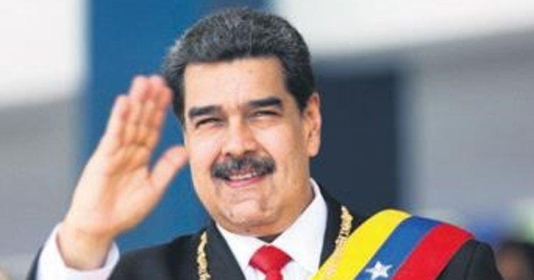 Maduro diyalog çağrısını yineledi