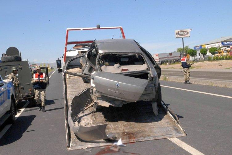 Diyarbakır'da trafik kazası: 1 ölü, 6 yaralı