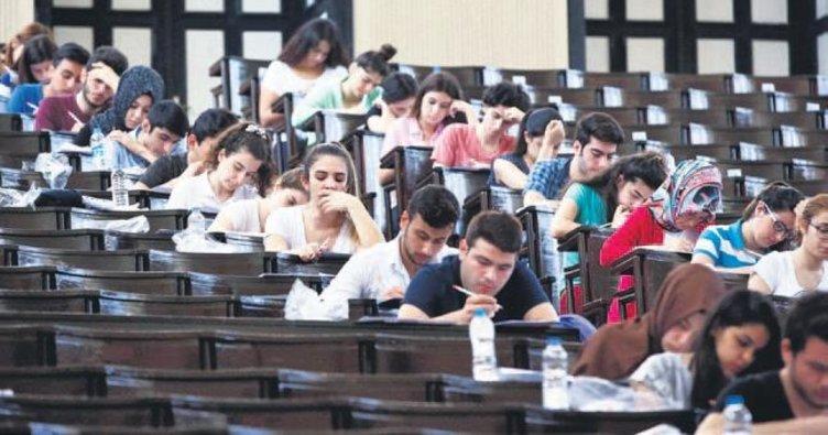 Üniversiteye girişte ALES benzeri sorular