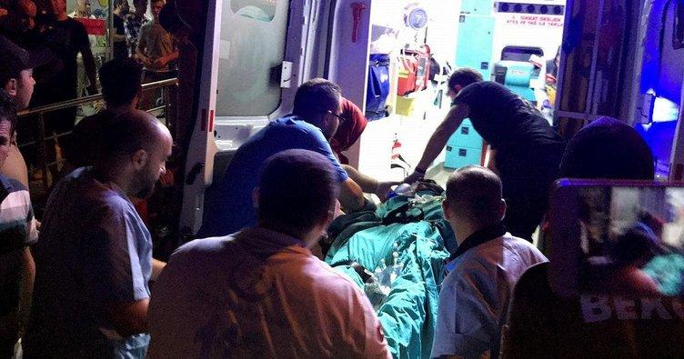 Sakarya'da hastane bahçesinde silahlı saldırı