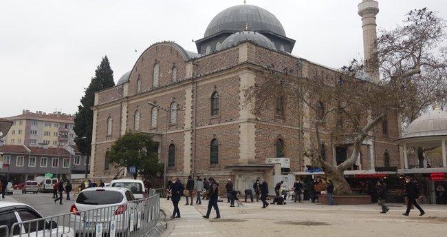 Asırlık Zağnos Paşa Camii'ninsilueti yeniden ortaya çıkarıldı