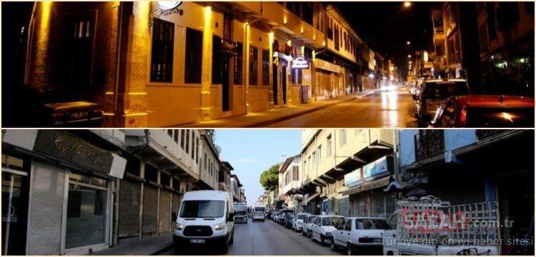 Antakya'da, dünyanın ilk aydınlatılan caddesi olarak bilinen Kurtuluş'ta restorasyon çalışmaları başlatıldı
