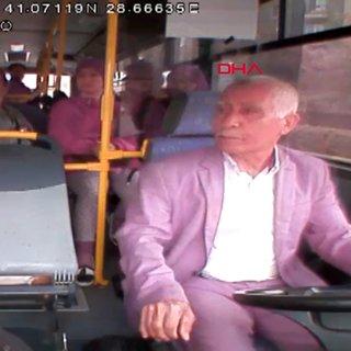 İstanbul Başakşehir'de yaşlı sürücüye yumruklu saldırı anı kamerada